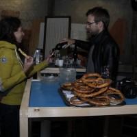 Renaud macht die Bar. Bild: Chris Niewo